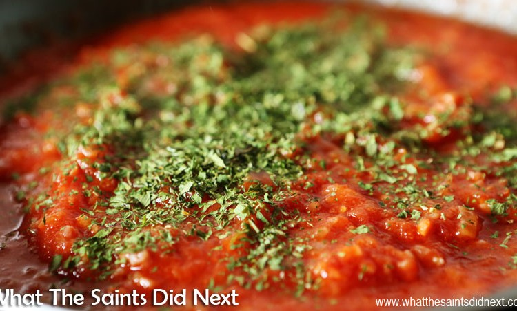 How To Make St Helena Bread and Dance (Tomato Paste)