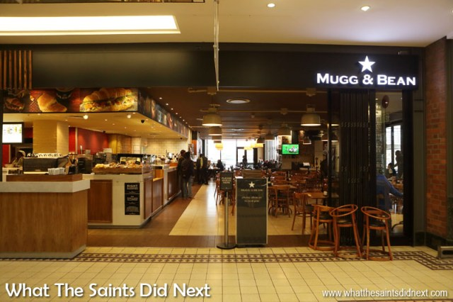The Mugg & Bean Coffee Shop in Cape Town