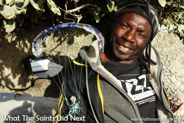 Cape Town People: George the tin and wire artist.