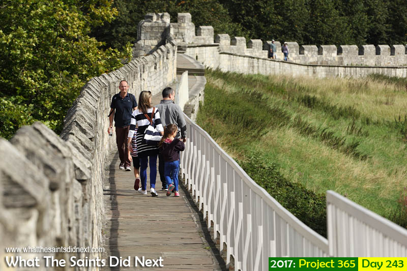 'The spirit of parity'<br /> 31 August 2017, 10:58 - 1/640, f8, ISO-200<br /> Walking the York city wall.