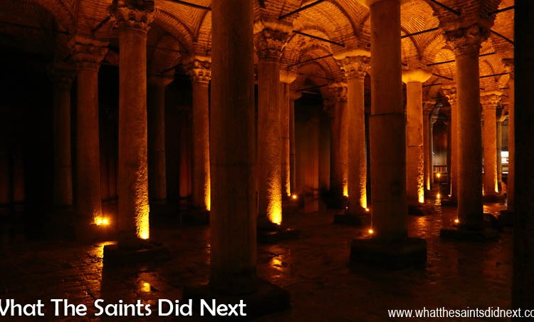 Undercover in Turkey – The Basilica Cistern in Istanbul