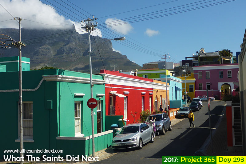 """'Social Apartheid'<br /> 20 October 2017, 14:28 - 1/1000, f4.3, ISO-100 Lumix DMC-FT5<br /> <a href=""""http://whatthesaintsdidnext.com/street-vogue-bo-kaap-cape-town-photo-shoot/"""" target=""""_blank"""" rel=""""noopener"""">Colourful Bo Kaap</a> district in Cape Town, South Africa."""