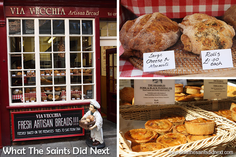 "The <a href=""https://www.yorkmix.com/business/famous-york-bakery-gets-new-owners-a-new-look-and-new-treats/"" target=""_blank"" rel=""noopener"">Via Vecchia bakery</a> on The Shambles."