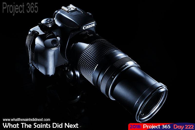 Canon EOS Rebel XS camera.