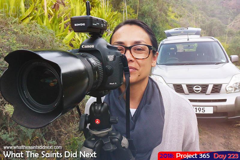 WTSDN shooting on location.