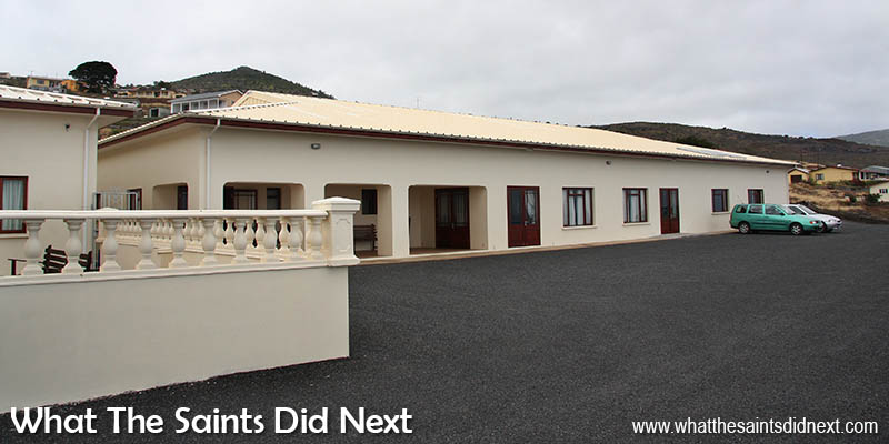 Her Royal Highness, The Princess Royal Community Care Centre at Ladder Hill, St Helena, in September, 2008.