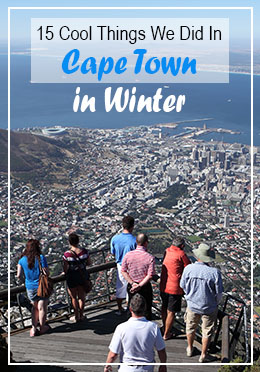 Things to do in Cape Town in winter