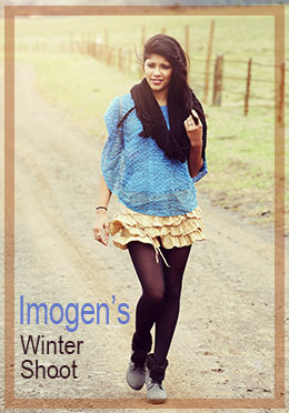 Winter Photo Shoot with Imogen