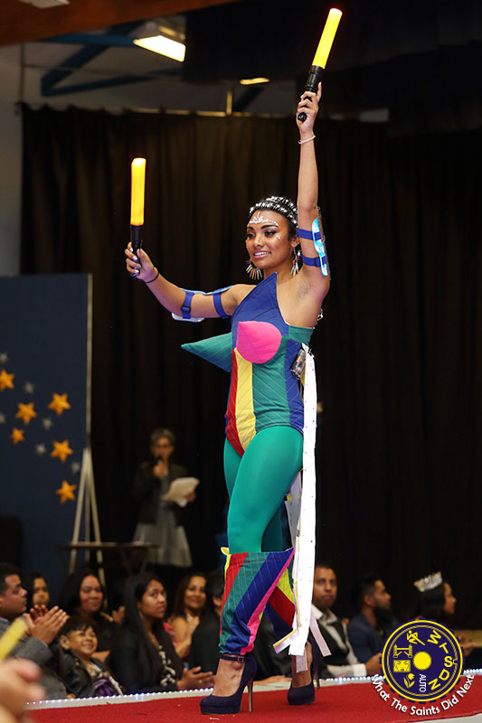 No.11, Tyanne Williams - Attention Seeker - representing St Helena Airport