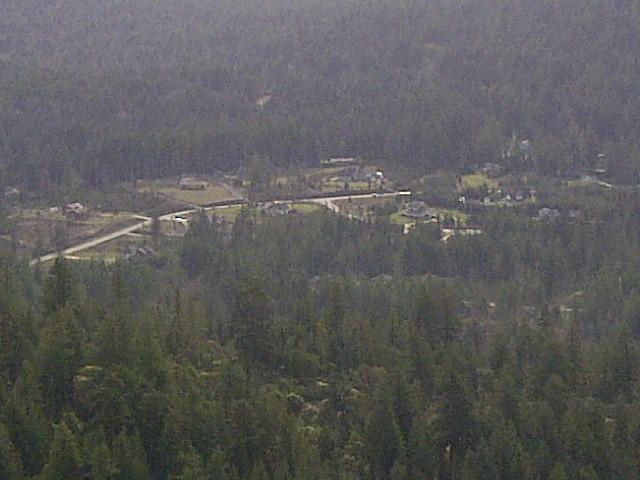 Demamiel Creek Estates from Bluff Mountain