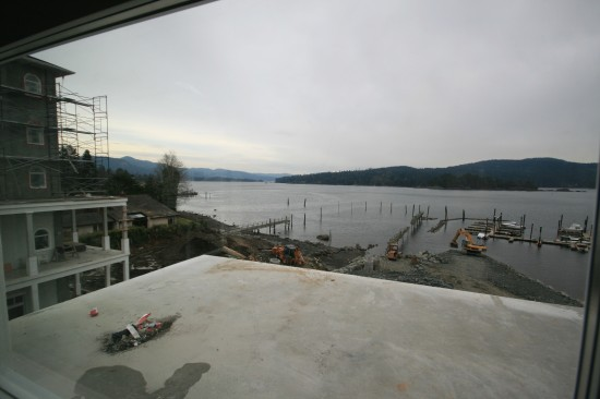 Balcony at Sooke Prestige Hotel