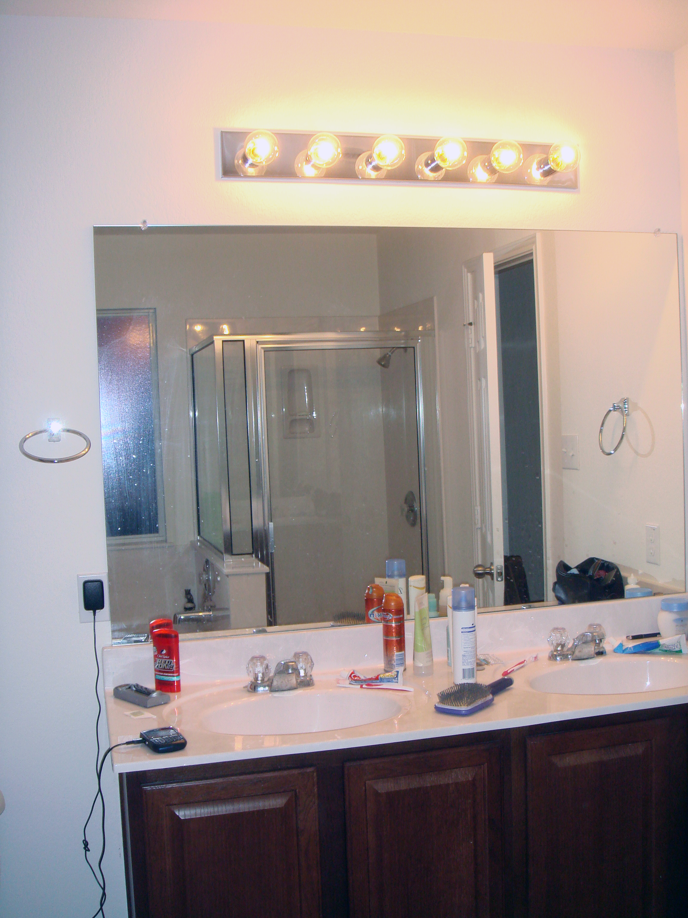 Bathroom lighting ideas choices and indecision  What