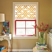 DIY Window Treatment Ideas: Roller Shades  What the Vita