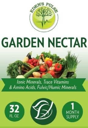 Garden Nectar minerals