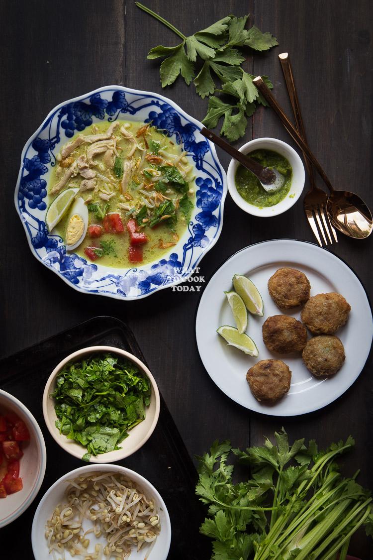 Soto Ayam Hd : Medan, (Chicken, Coconut, Milk)