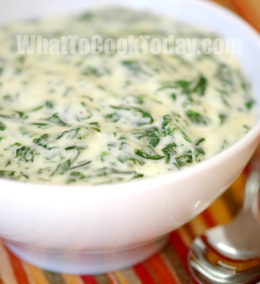 FEED MY BABY: CREAMED SPINACH