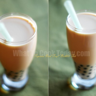 TAPIOCA ICED TEA/BUBBLE TEA