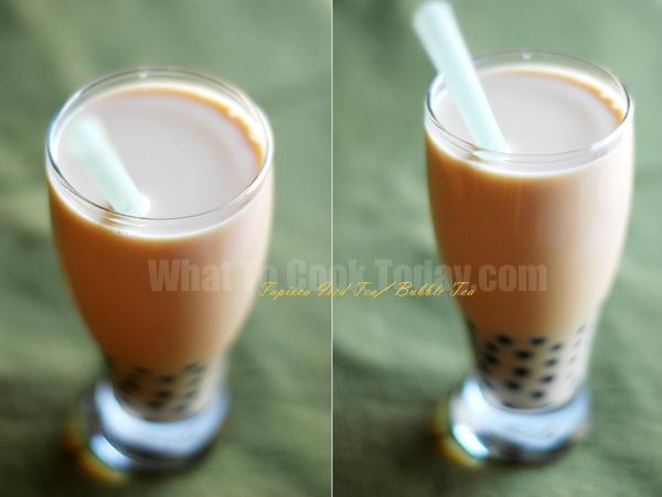 TAPIOCA ICED TEA/BUBBLE TEA
