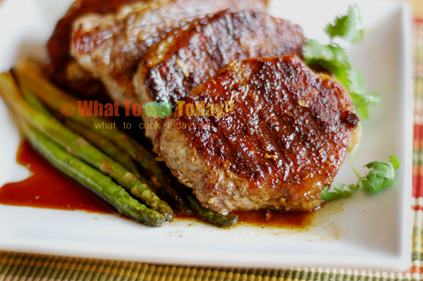 LISU GRILLED SPICE-RUBBED  PORK