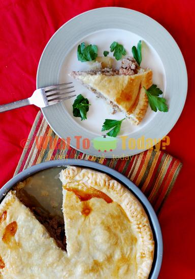 CHURER FLEISHTORTE/ MEAT PIE FROM CHUR