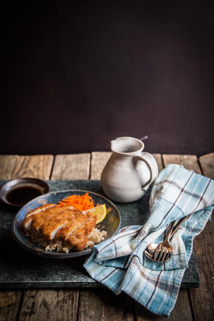 Tonkatsu (Japanese fried pork cutlet)