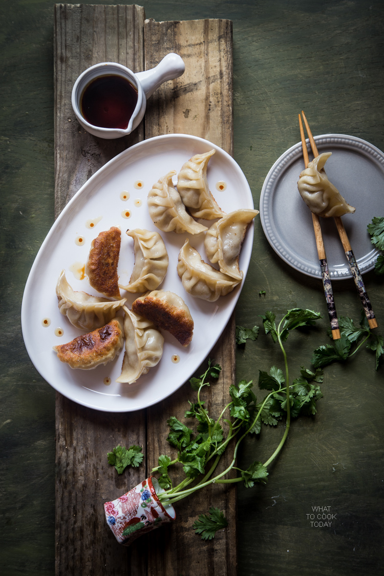 Gyoza (Japanese pan-fried dumplings)