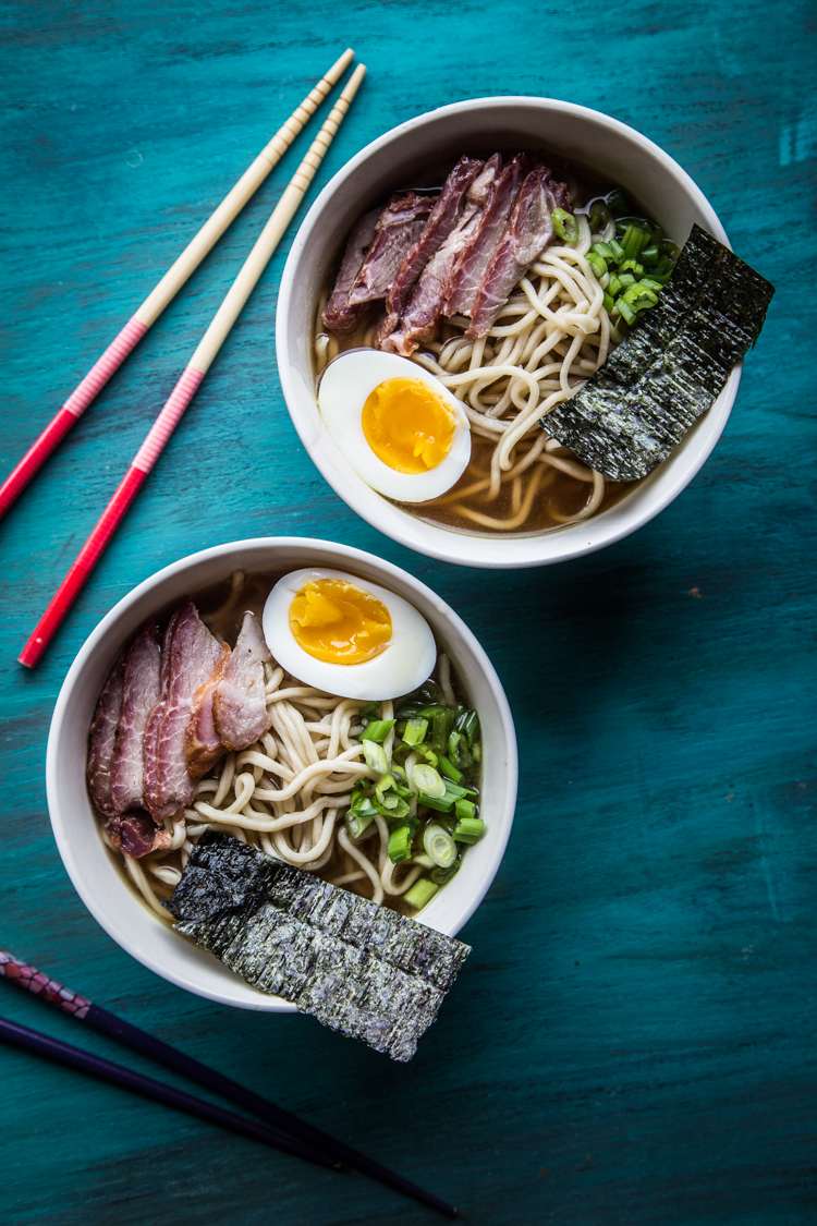 Shoyu Ramen (with Homemade Ramen Noodles)