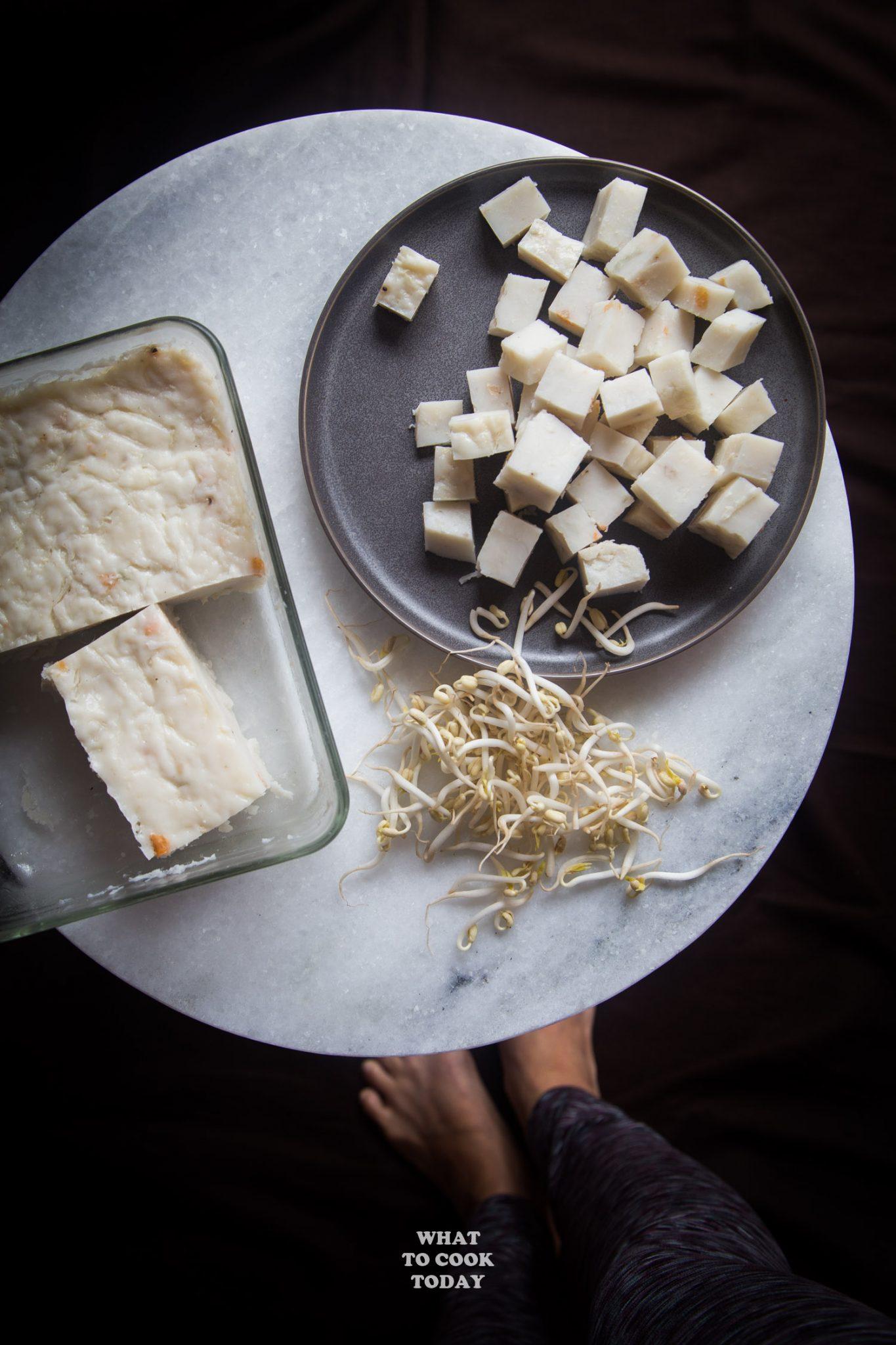 Stir Fried Carrot Cake Char Chai Tow Kway Lobak Goreng Telur