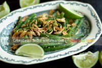 GREEN BEAN SALAD WITH PEANUTS