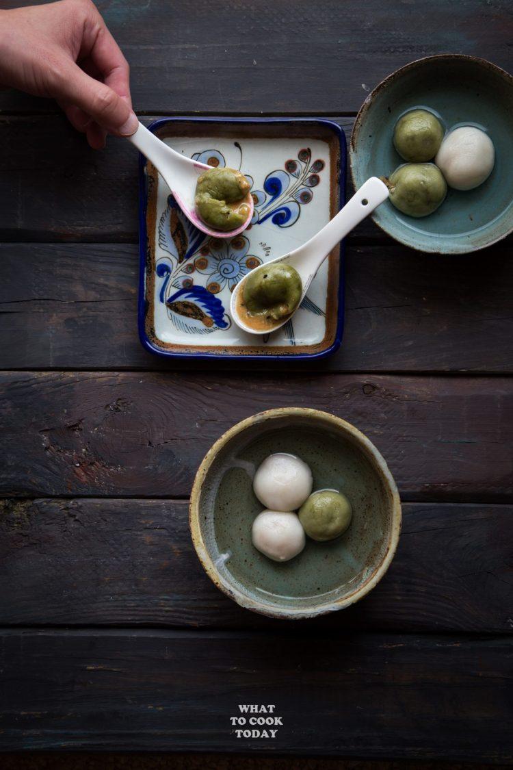 Tang Yuan with Lava Peanut Filling