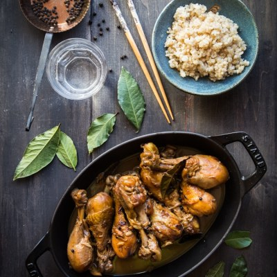 Chicken Adobo (Vinegar-braised Chicken)