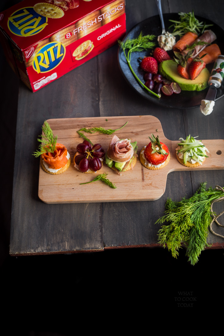 Stack it up with RITZ Original Fresh Stacks 4 ways