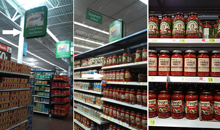 Prego Farmer's Market Sauces at Walmart