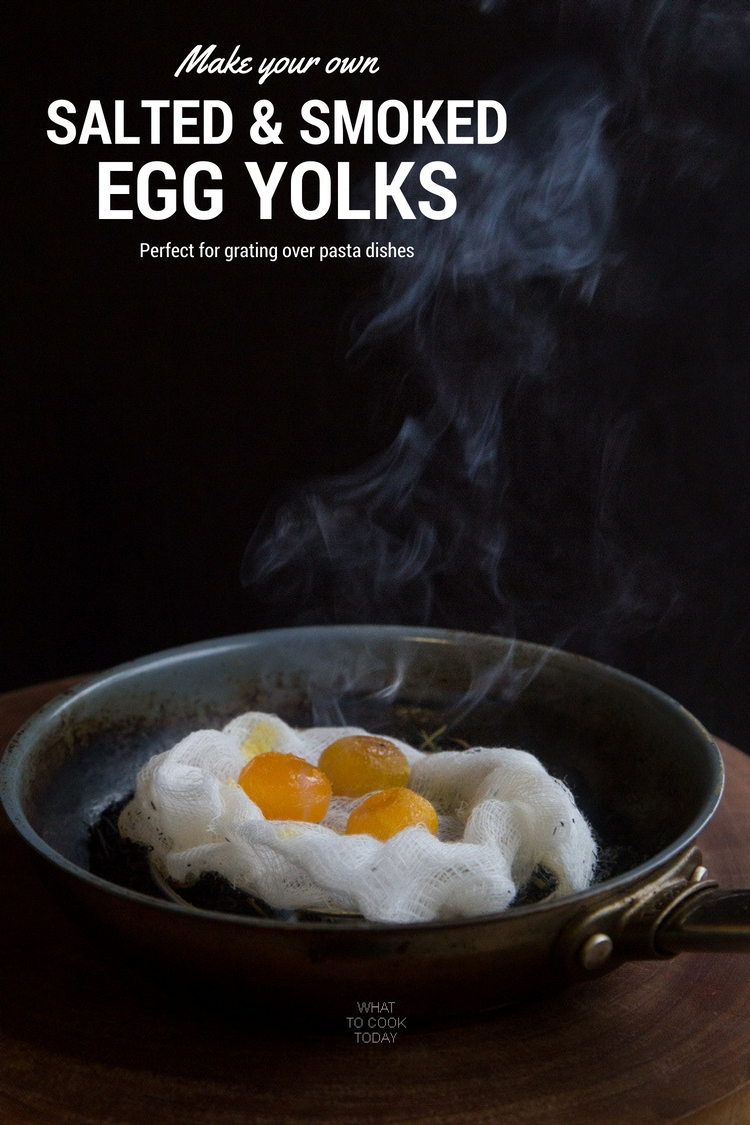 How to make your own salted eggs and smoked egg yolks. Perfect for grating over pasta dishes or for making Chinese mooncakes