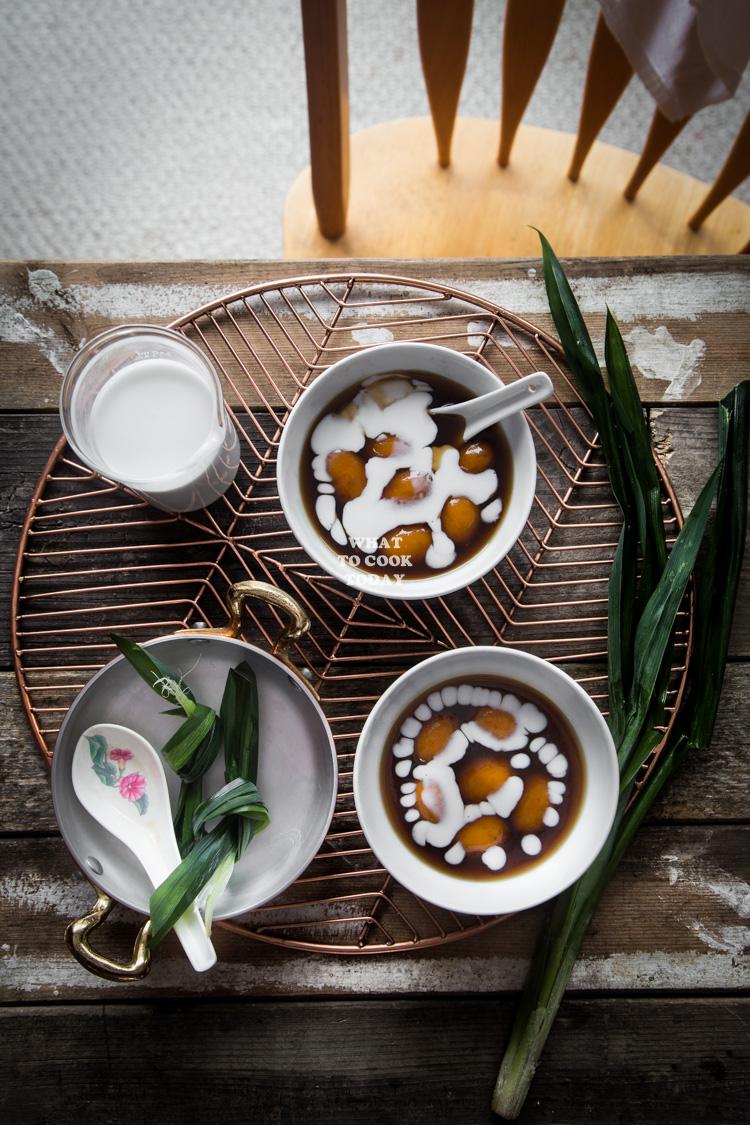 Cara Membuat Candil Ubi : membuat, candil, Bubur, Candil, Jalar, Kolak, Salak