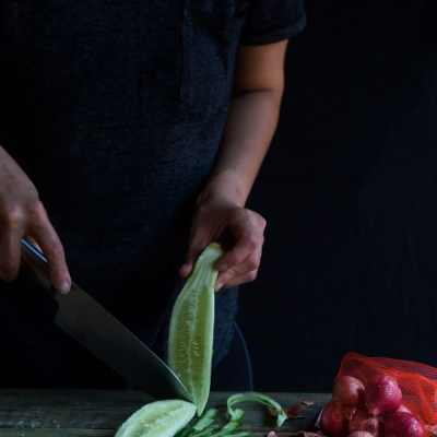 Acar Timun (Cucumber Pickles)