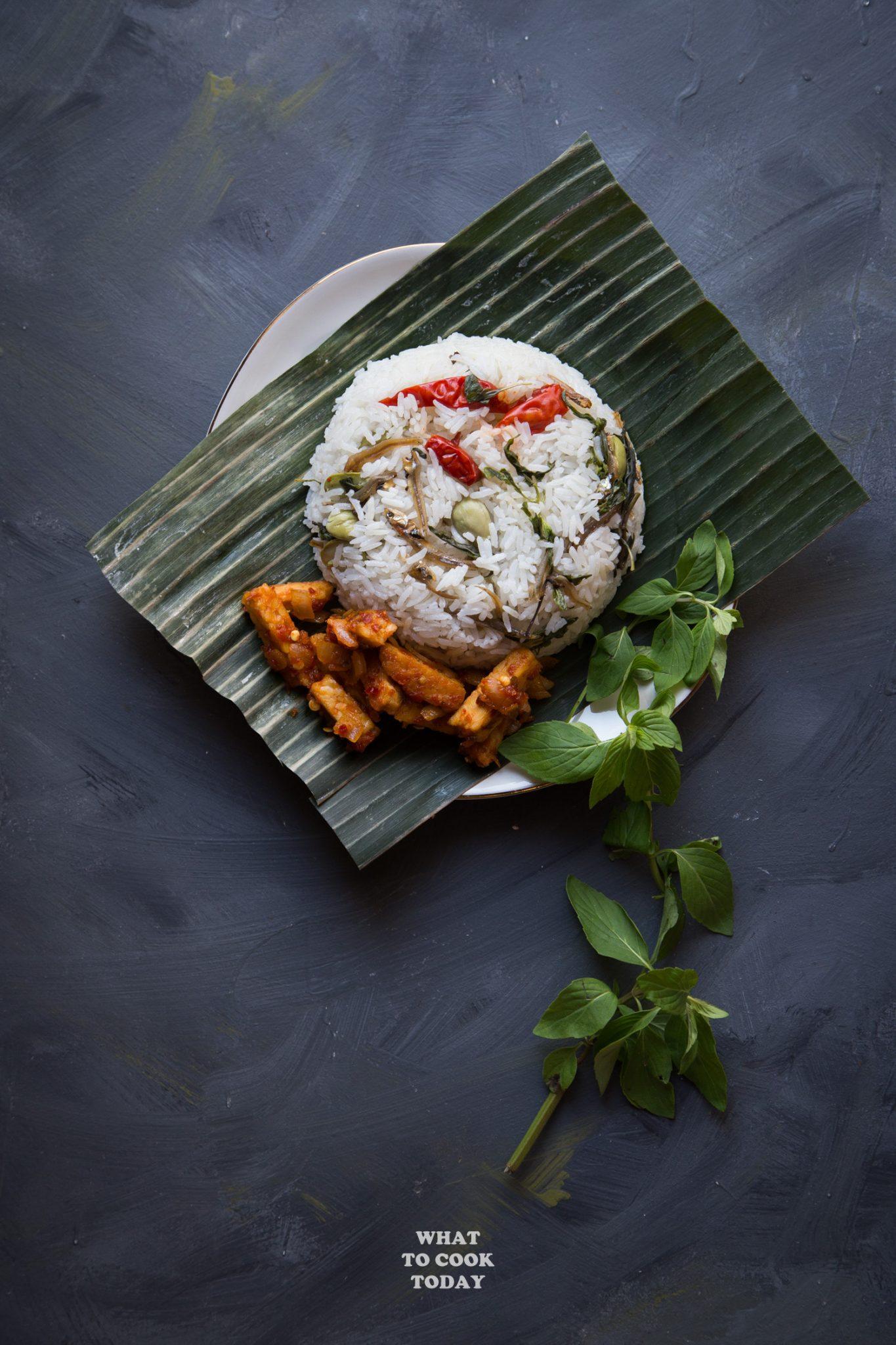 Nasi Liwet Komplit : liwet, komplit, Liwet, Sunda, Indonesian, Aromatic, Spiced, Coconut, Rice), Today