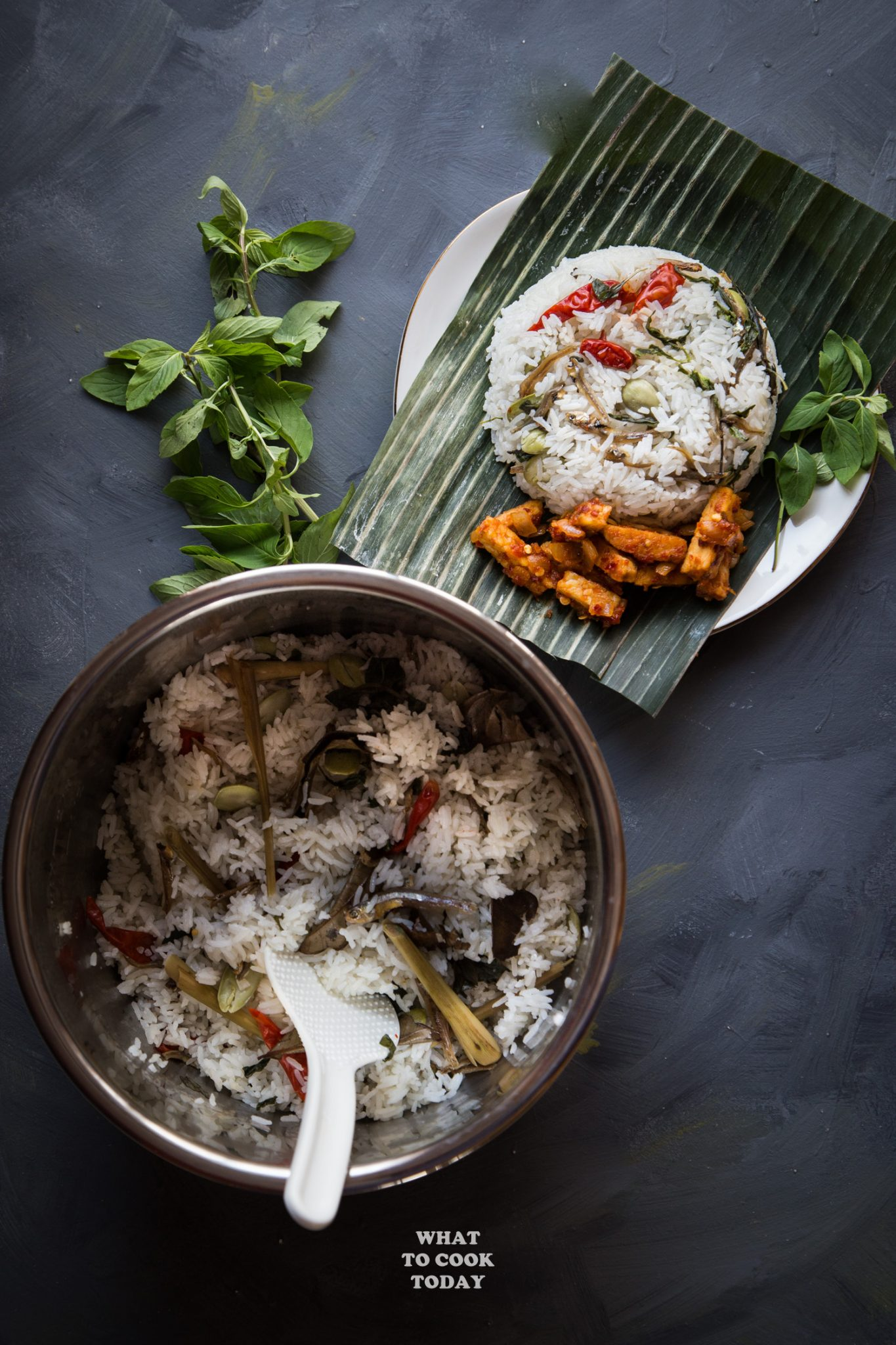 Nasi Liwet Magicom : liwet, magicom, Liwet, Sunda, Indonesian, Aromatic, Spiced, Coconut, Rice), Today