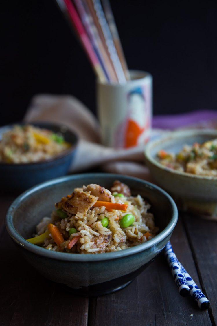 Yakitori Chicken Fried Rice #ad #LingLingAsianFood #LL #asianfood #easymeals #friedrice #chopsticks