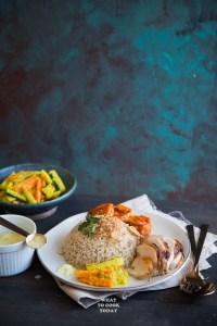 Nasi Hainam Medan / Medan-style Hainanese Roasted Chicken Rice