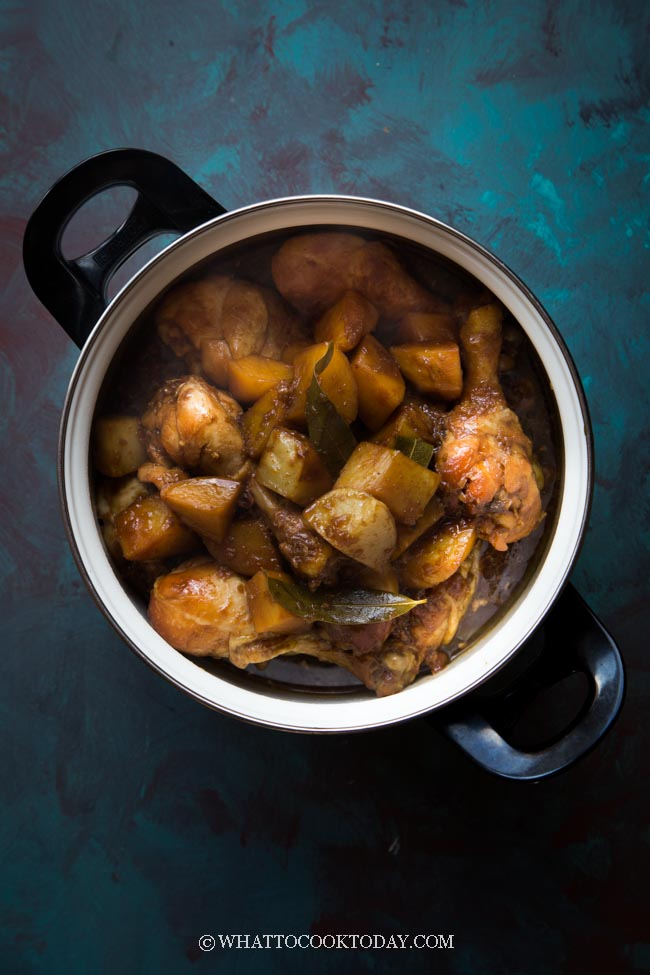 Semur Ayam Kecap : semur, kecap, Semur, Kentang, Kecap, (Chicken, Potatoes, Smoor), Today
