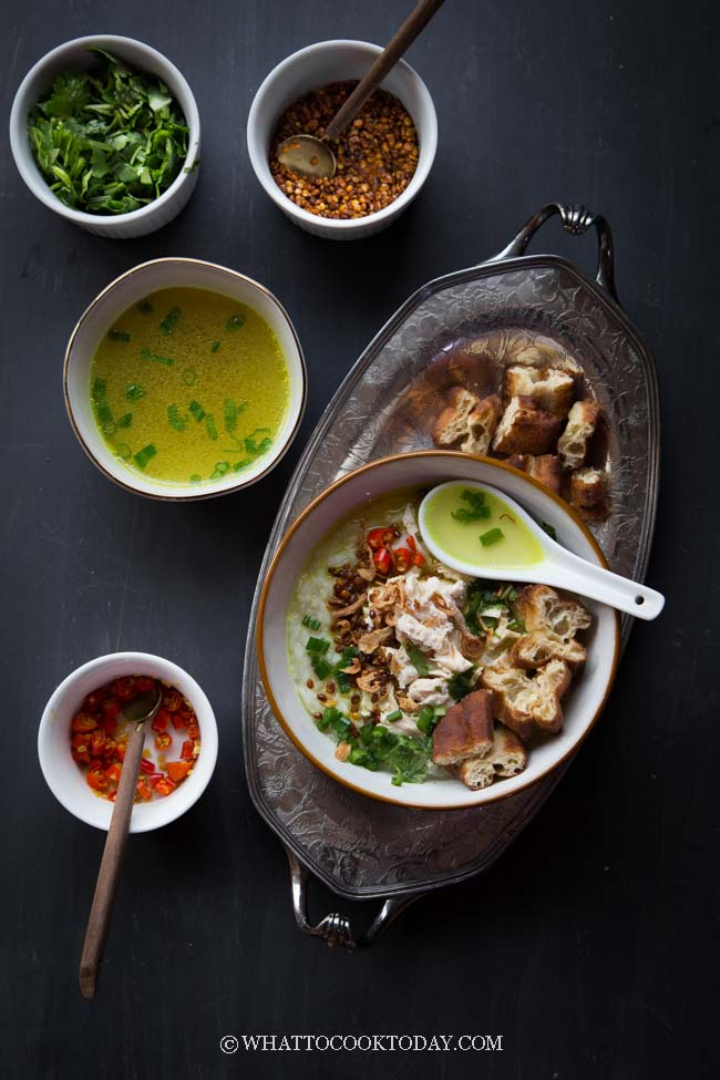 Bubur Ayam Hd : bubur, Bubur, Betawi, Kuning, (Jakarta, Chicken, Porridge)