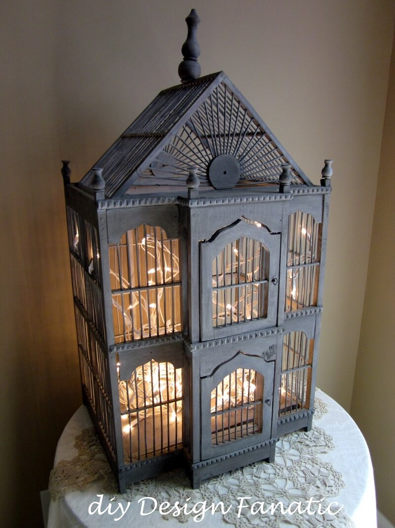 What To Do With An Old Birdcage