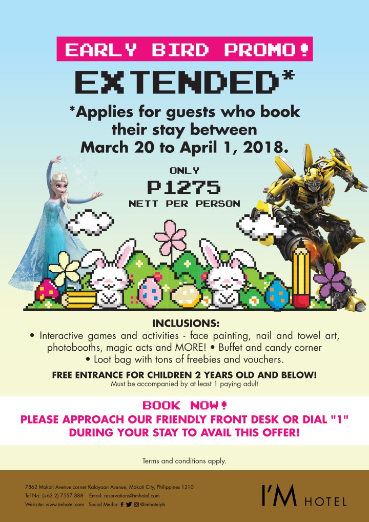 Easter Promo 2018_A4 EXTENDED