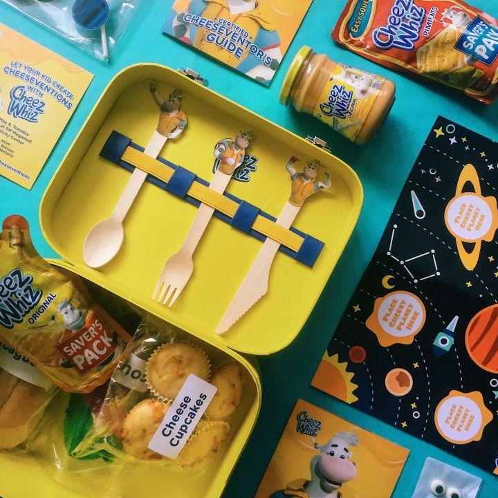 Cheesevention Kit flatlay 4
