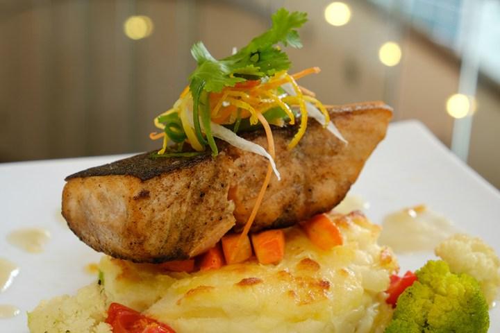 EC+B - Pan-seared Salmon