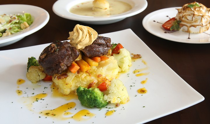 EC+B - Steak Diane