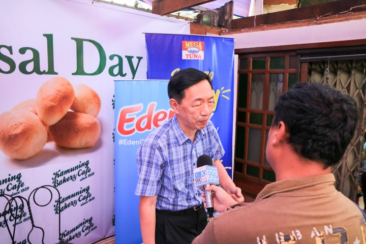 Kamuning Bakery Cafe Owner - Wilson Lee Flores