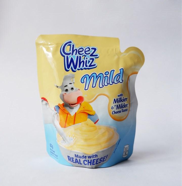Cheez Whiz Mild pouch