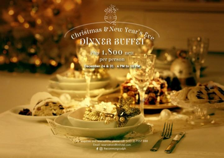 Christmas _ NYE Dinner Buffet